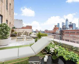Outdoor Space at 212 West 18th Street, 10-D